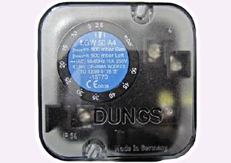GW3A5,LGW3A2,Dungs pressure switches ,Dungs air pressure switch