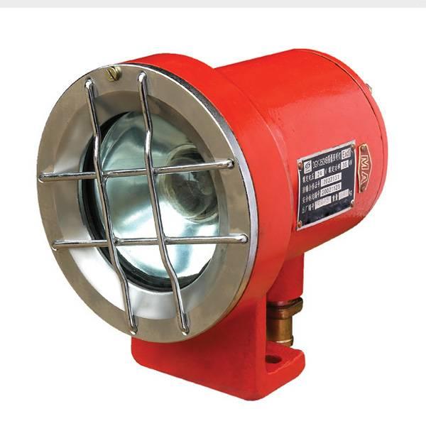 Led anti-explosion light for mining locomotive