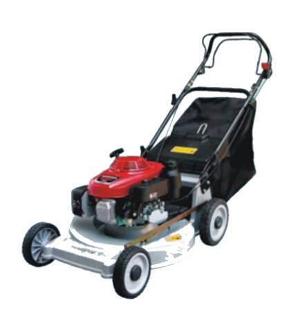 22 H Alloy self-propelled lawn mower