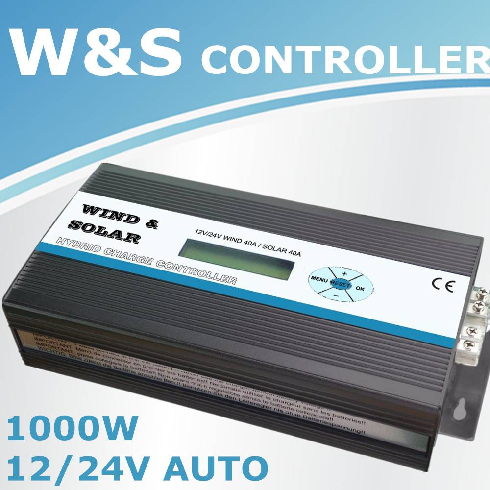Wind generator solar charge controller control wind turbine and solar panel
