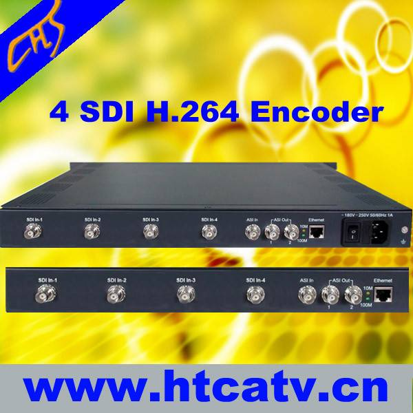 4 in 1 H.264/AVC SD Encoder (SDI Input)