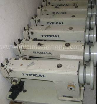 used typical 0302 leather sewing machine