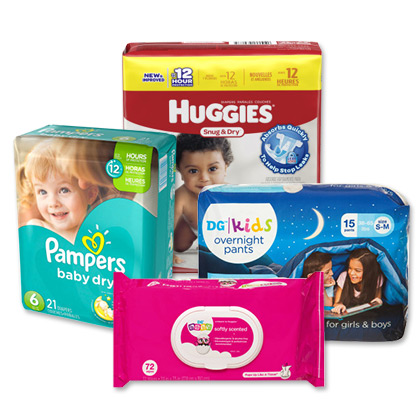 Baby Diapers and nappies Pampers