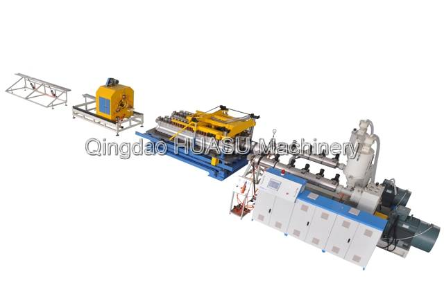 SBG315 HDPE/PP Double Wall Corrugated Pipe Production Line