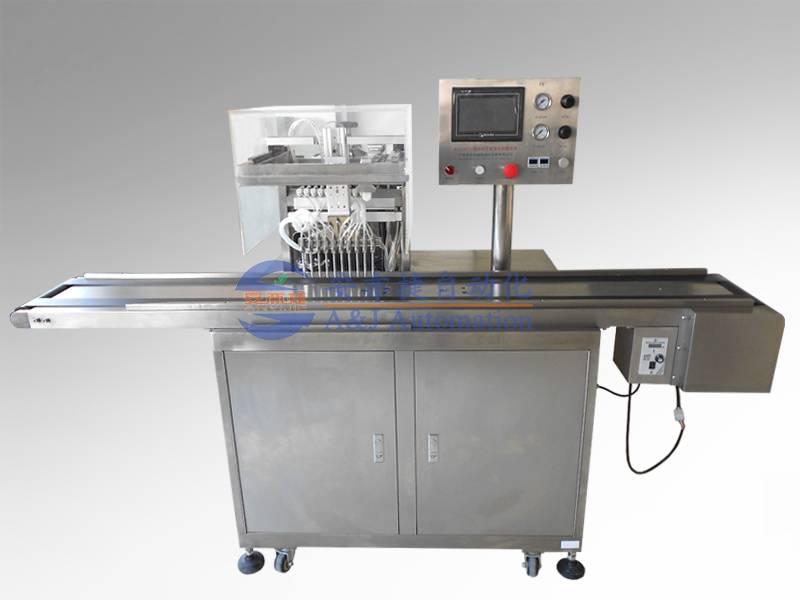 10 channels liquid filling & spraying machine