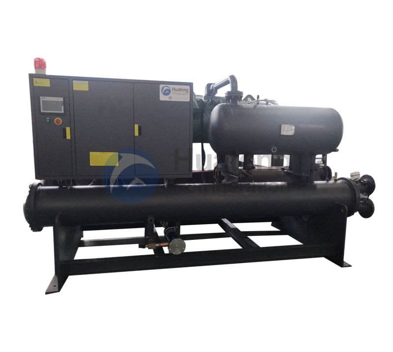 Semi closed Screw Type Chiller