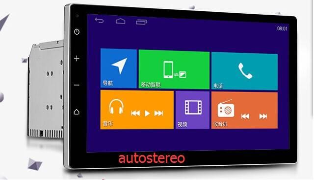 10.1 Android 4.4.2 Universal Car DVD Player GPS Navigation