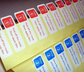 Adhesive Sticker, Packaging Label, Hologram Sticker