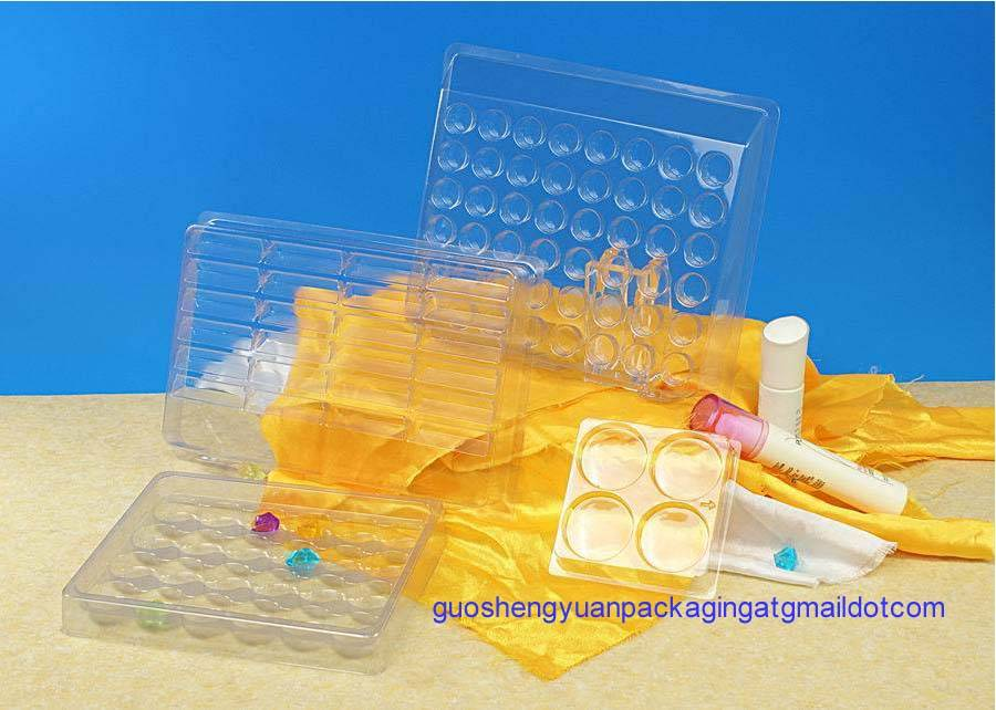 plastic blister tray for Toy and cosmetic packaging