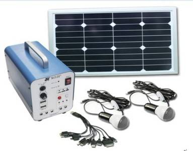 Small off-grid solar power/Home used solar generator