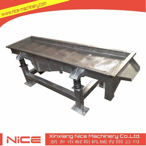 NL-520 linear vibration sieve screen for grading and separating