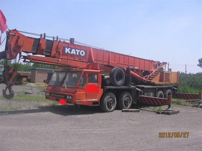 used NK500MS KATO truck crane