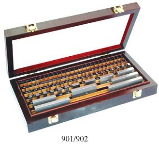 Steel gauge blocks set