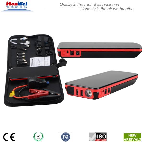Peak 600Amp Power bank jump starter with car charger