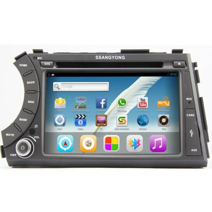 Car Multimedia for For Ssangyong Kyron Actyon 2005-2012, 7 Inch