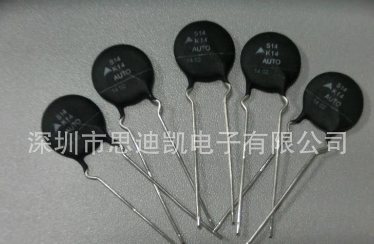 Epcos Nonlinear Resistors For Autou S14K14AUTOS5D1(B72214S1140K501 ) in stock