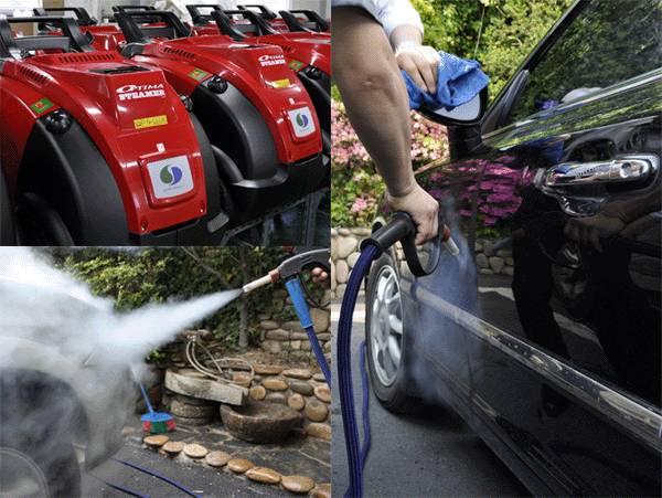[KITA] Water Saving Steam Car Wash OPTIMA STEAMER (http://sjecorp.com)