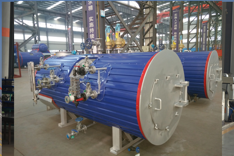 New Exhaust gas Boilers for Generator Set Heat Recovery Exchenger for HO Power Plant