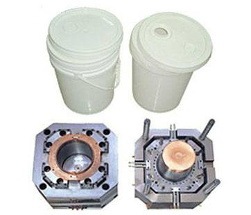 Plastic mold injection mold Bucket Mould Paint Pail Mold