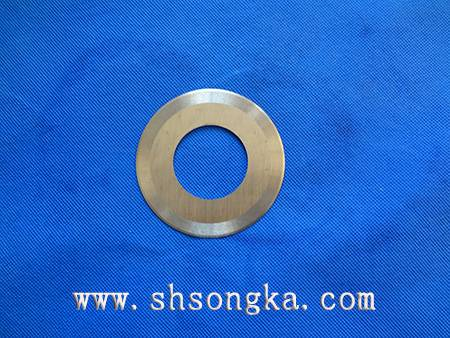 Packing material slitting circular knife, light industrial paper paper machine blade