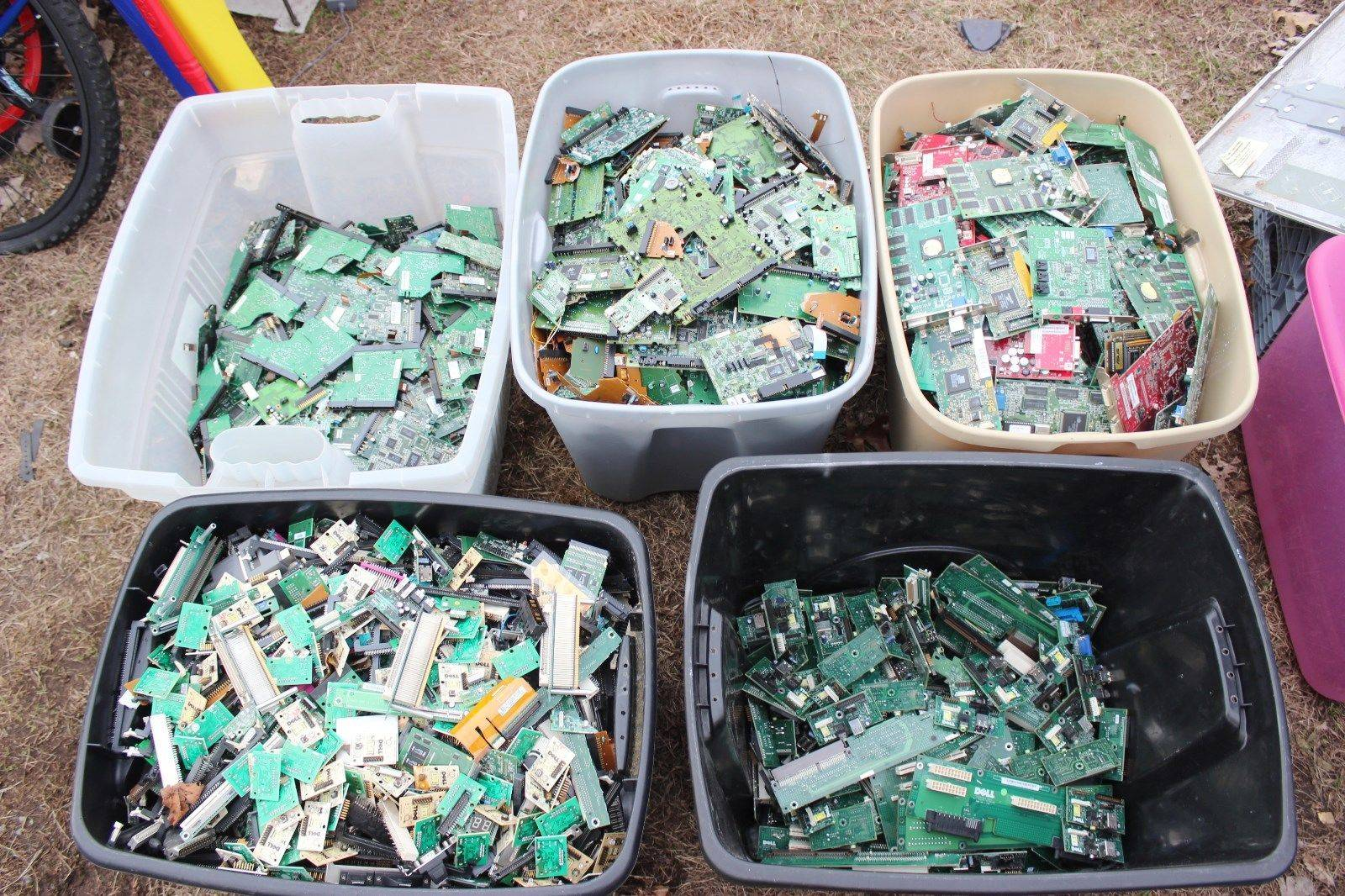 Computer Gold Scrap (Motherboards and more)