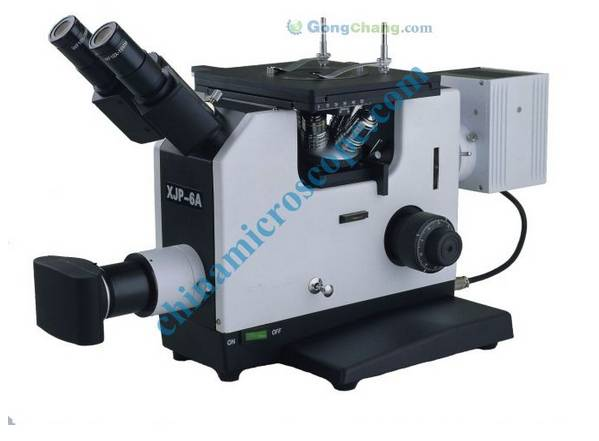 XJP-6A inverted metallurgical microscope