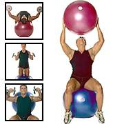 75cm gym ball Aero ball fitness ball with logo available