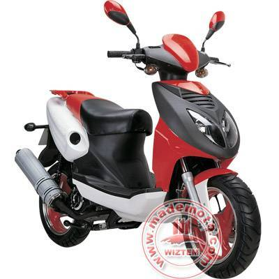 Gas Motor Scooter Equipped with 50cc Engine WZMS0501EPA