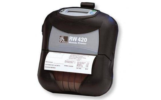 Zebra RW 420 Mobile Invoice & Receipt Printer