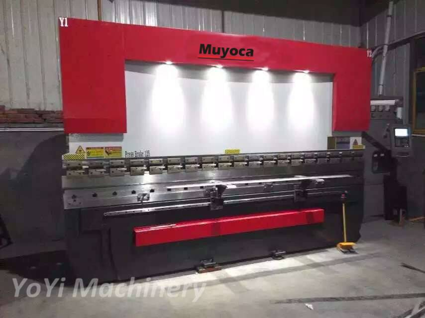DA52 cnc servo press brake 100T/4000mm