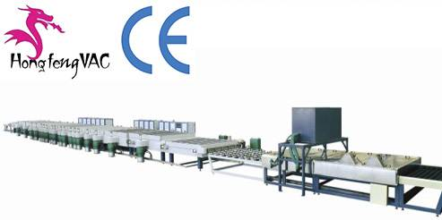 Aluminum Mirror Sputtering Coating Machine / Mirror-Glass-Coating-Production-Line