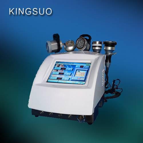5 in 1 RF Ultrasonic Cavitation Vacuum BIO LED Equipment / ultra sound cavitation slim