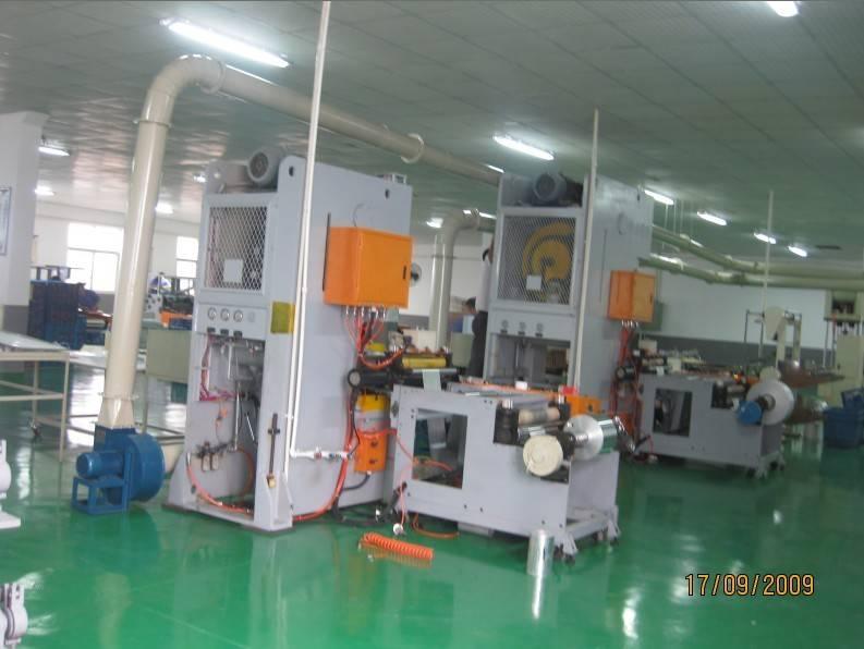 Aluminum Foil Food Container Production Line