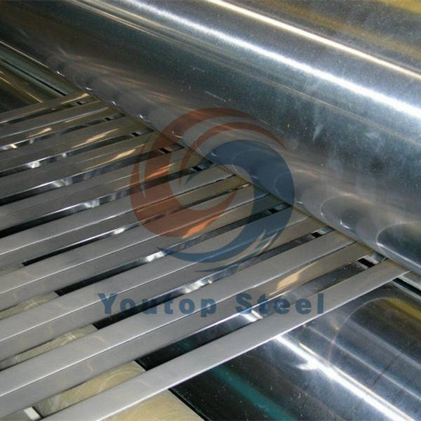 Stainless steel strips for pipe