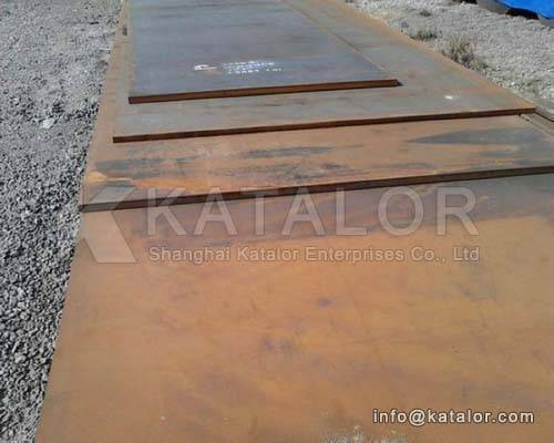 High Yield steel plate CSA G40-21 400 W, WT steel plate
