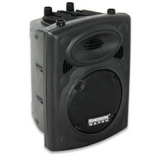 Professiona movable active stage speaker