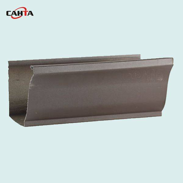 High quality 6.2 inch K style seamless aluminum gutter