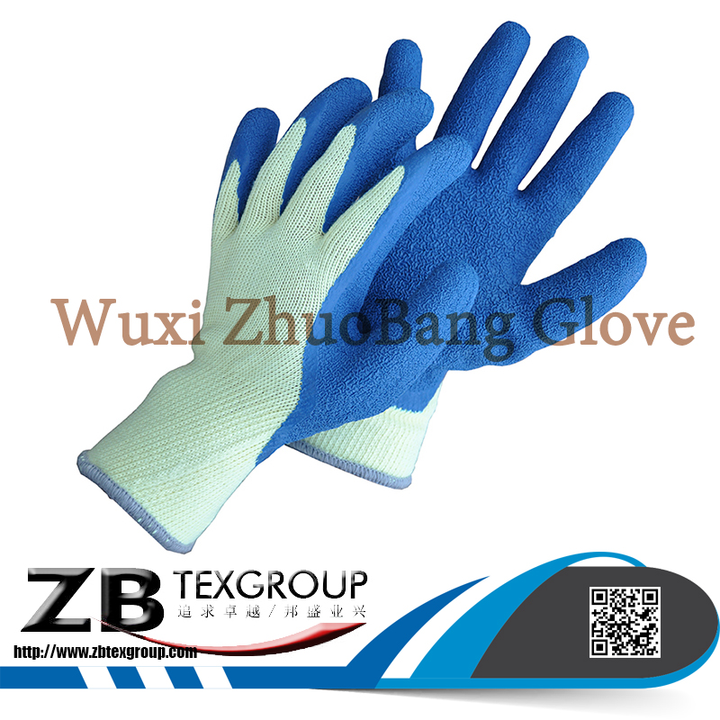 High Quality 10G Latex Coating Cut Resistant Hand Worker Gloves