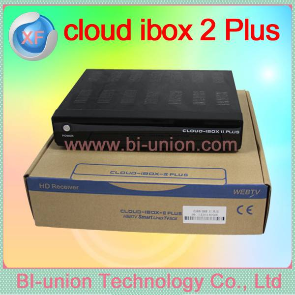 OpenPLi 4.0 cloud ibox 2 plus Linux enigam 2 cloud ibox II plus satellite tv receiver