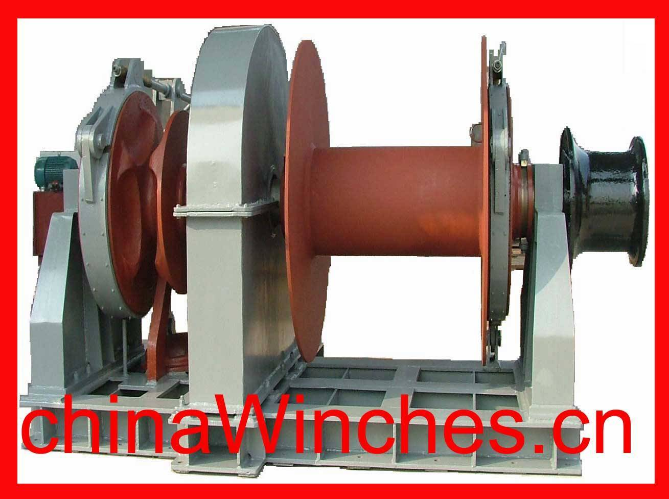 marine winch and anchor winch