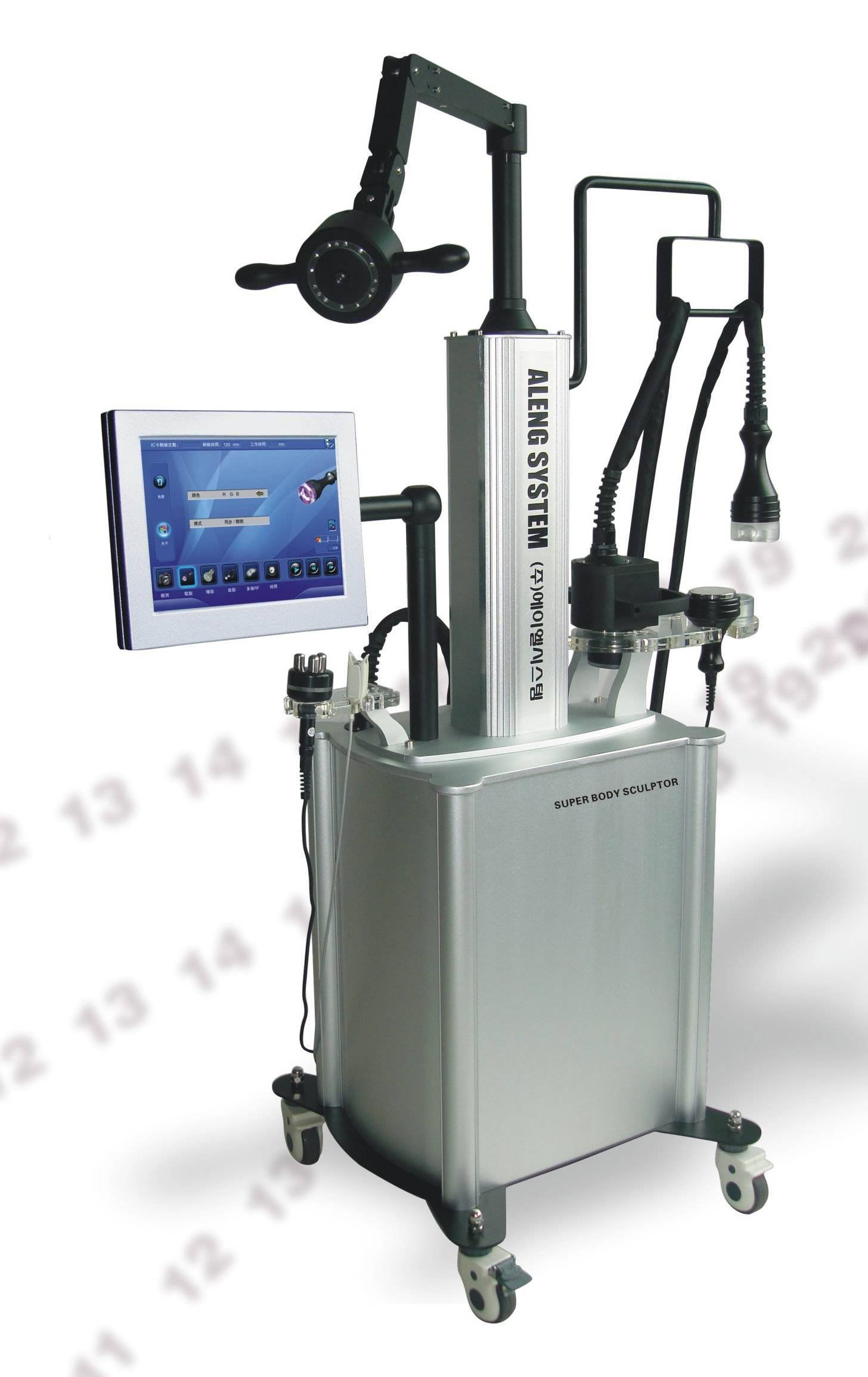 Aesthetic treatment,beauty machine,vacuum + cavitation + RF