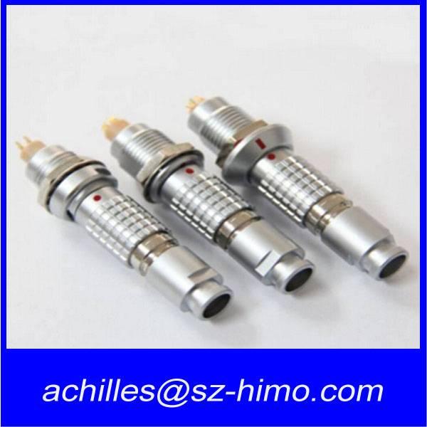 2 3 4 5 6 7 8 9 10 12 14 16 18 26 32 pin metal lemo push pull self-locking automotive connector