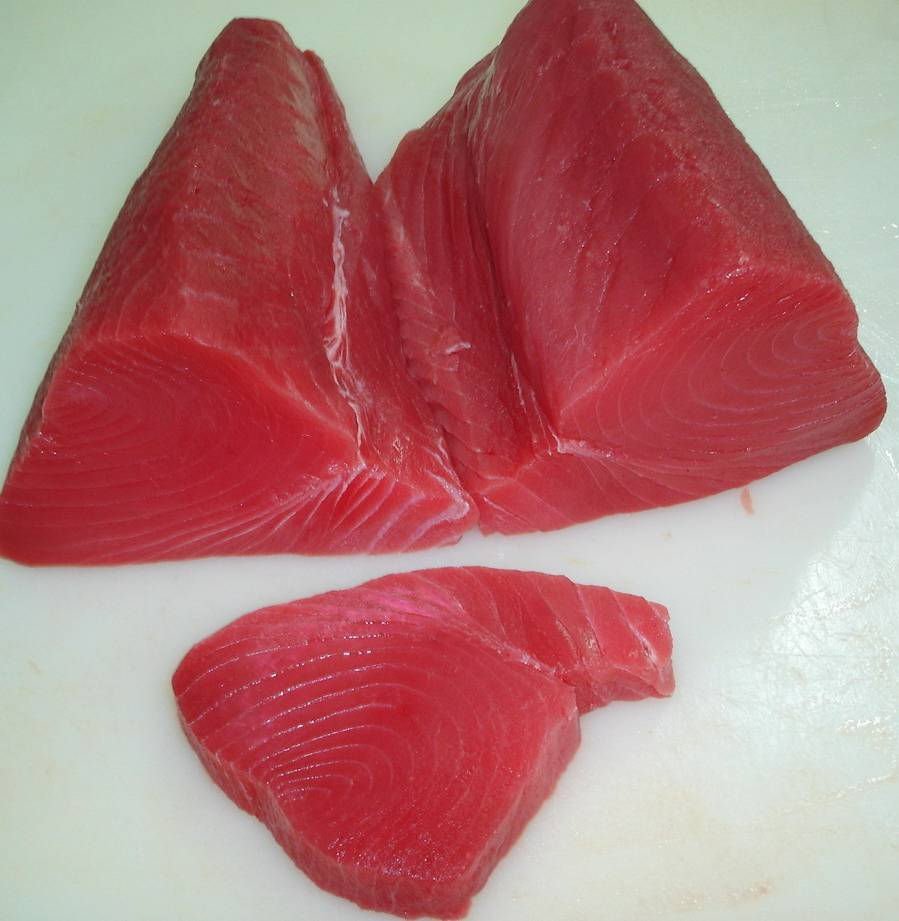 Frozen Yellowfin Tuna Loin