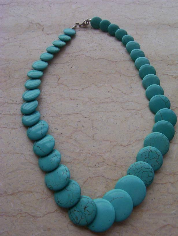 MU-016 Turquoise necklace