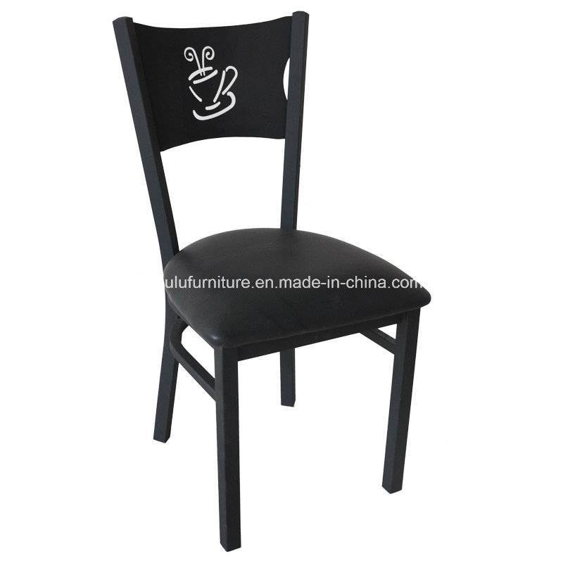 Coffee Back Metal Chair for Restaurant (ALL-209)