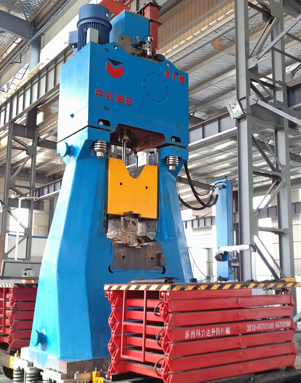 C88K Fully hydraulic die forging hammer