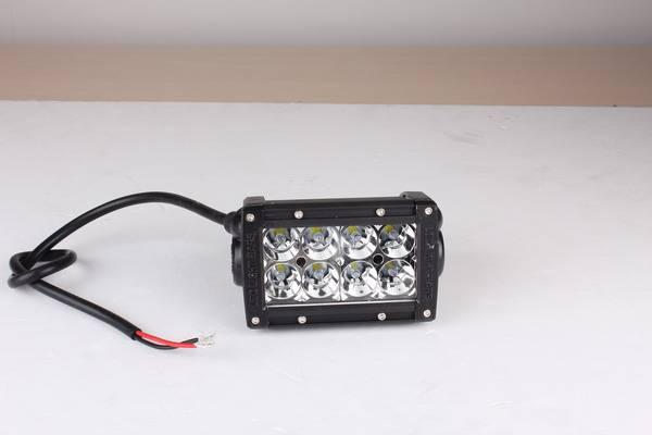 7.5 36W Cree Off Road Light Bar 3D Reflectors Projector Lens