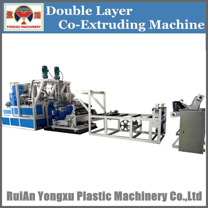 double screw plastic sheet extrudsion machine