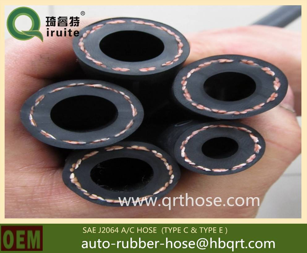 barrier frigerant rubber hose for automotive vehical