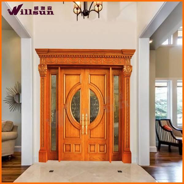 2014 hot selling solid wood door